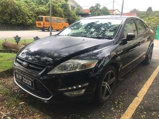 Ford Mondeo 2.0l Ecoboast 2011