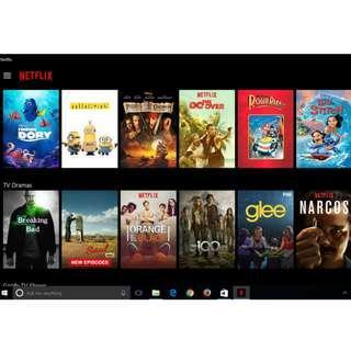 永久官方 Netflix 4K  UHD 電影 高級會員終生訂閱