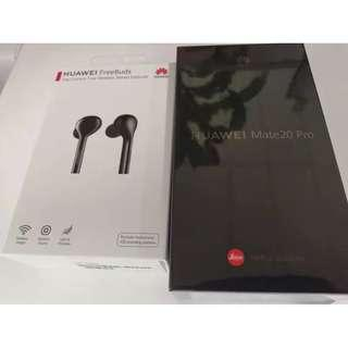 Huawei mate 20 pro 8+256GB + FreeBuds Brand new