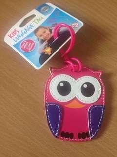 Owl Kids Travel Tag