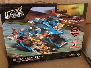Harvex Machines Ultimate Battleship Playset