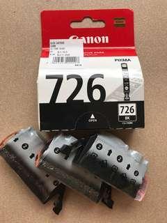 726 Canon Ink Cartridge - black