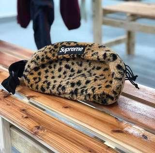 Supreme leopard fleece