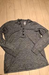 XXL Diesel V-Henley shirt