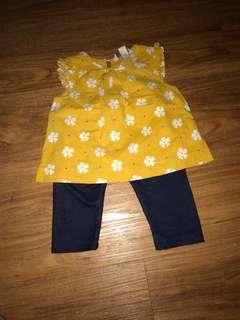 Poney baby girl set