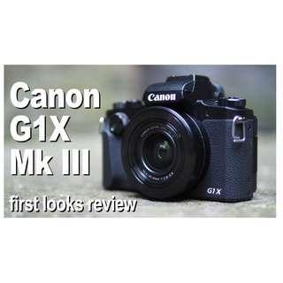 Canon PowerShot G1X Mark III Compact Digital Camera
