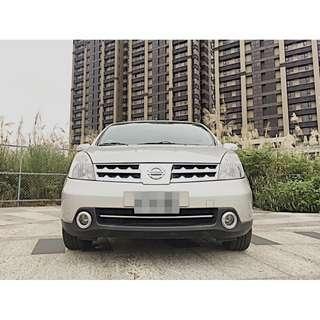 全額貸專區 2011年 日產 LIVINA 頂級七人座 認證車 里程4萬 導航 電視 倒車顯影 倒車雷達 全車原廠鈑件
