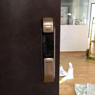 Installation Service for All  Mortise Digital Lock (P910/P920/P820/P710) at $160 (call 88668884)