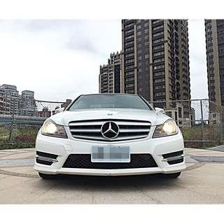 全額貸專區 2013年 BENZ C250 1.8L HK音響 實車在店 貸款強力過件 不用百萬就能買到百萬名車 !!
