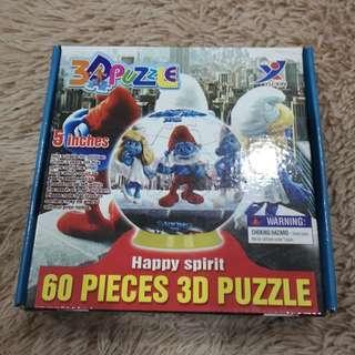 3D Puzzle (Smurfs)