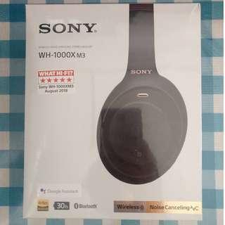 New Sealed Sony WH-1000X M3 Bluetooth HD Audio