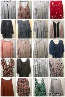 Plus size tops! Pre-loved!