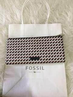 Fossil shelby long wallet