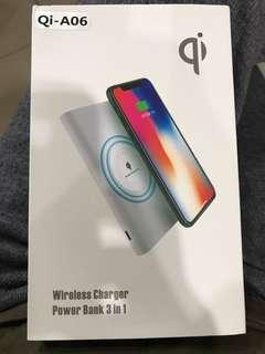Qi-A06 無線充電行動電源