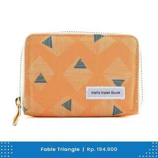 Dompet Wanita Wallts Fable Triangle