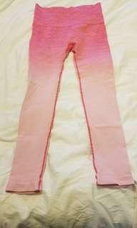 Ombre Pink Leggings (M)