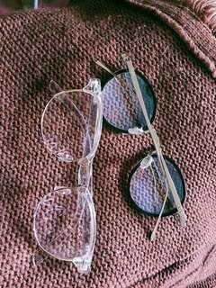Metal Eyeglasses/Specs - New