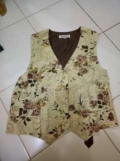 Vest Flower Vintage