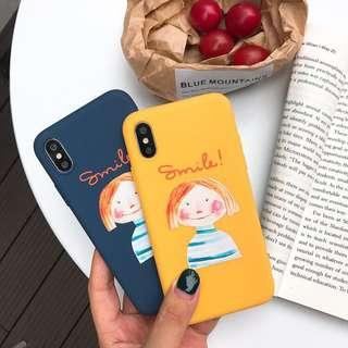 Smile Girl Soft Case