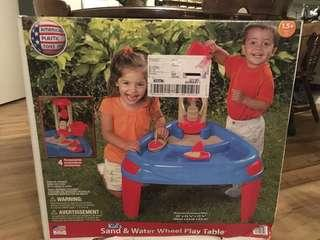 American Plastic Sand and Water Play Table