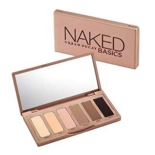 💄 Urban Decay Naked Basics Eyeshadow Palette
