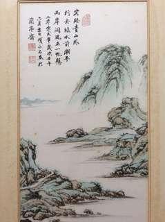 新加坡画家項永昌 Chinese painting