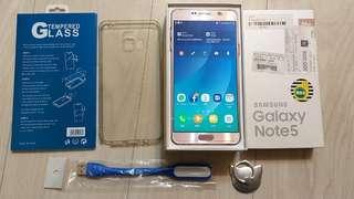 Samsung note5 64g pink
