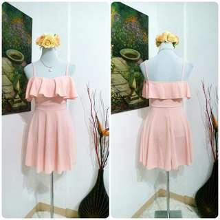 🌺 Dainty in Pink Mini Dress