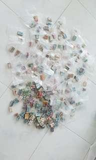 Cheap Sale All old US stamps all in about 250 stacks of 100 pieces each
