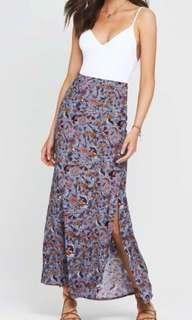 Tigerlily maxi skirt