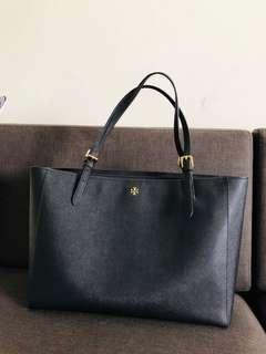 Tory Burch York Buckle leather tote