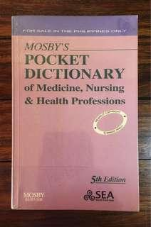 Mosby's Pocket Dictionary
