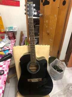 Toyama acoustic guitar