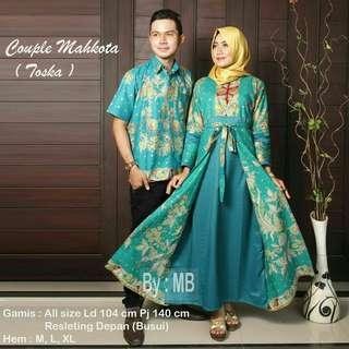 Couple Batik (Toska)