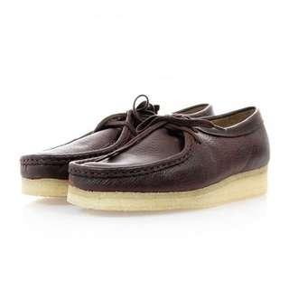 Clarks Originals Wallabees Brown Leather