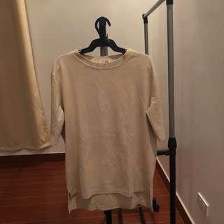 suede beige shirt