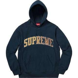 Supreme Hoodie Water Arc Droplets - Size M (連帽衫)