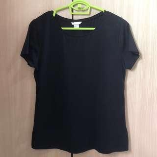Black H&M Basic Top