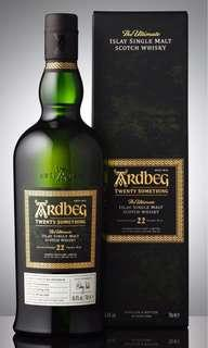 Whisky Ardbeg 22 years