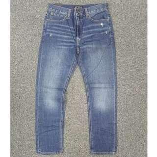 $260高質牛!J.Crew Factory Straight Fit輕微洗爛Austin Wash牛仔褲