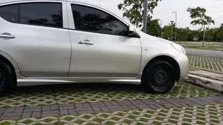Nissan almera 1.5E AT for rent