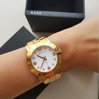 MARC JACOBS  - Amy Watch in Rose Gold