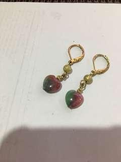 Emerald Drop earrings
