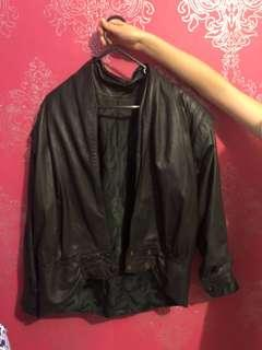 Brown Sugar Leather Jacket No Size