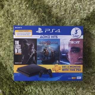 [New] PS4 Slim Hits Bundle