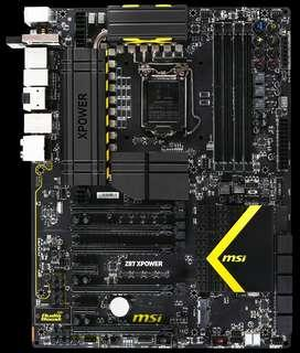 Motherboard msi Z87 Xpower