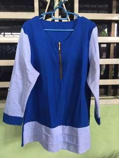 [FREE POSTAGE] Light blue blouse