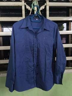 [FREE POSTAGE] Blue polo shirt