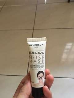 Brunbrun blackhead nose mask