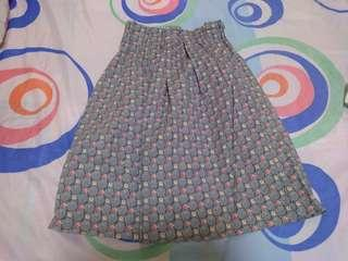 Printed Skirt (High Waist)